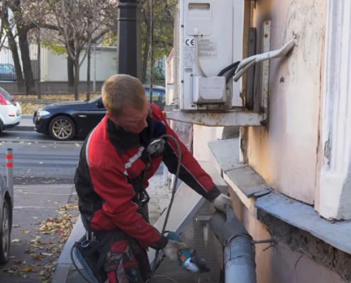 подготовка к монтажу водостоков